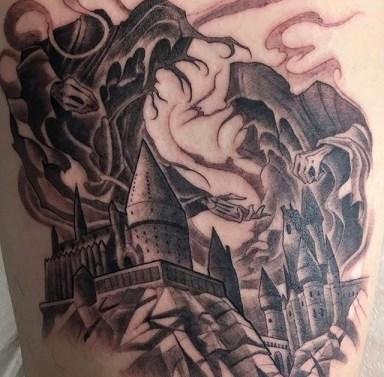 Marvin Silva Best of Tattoo Harry Potter