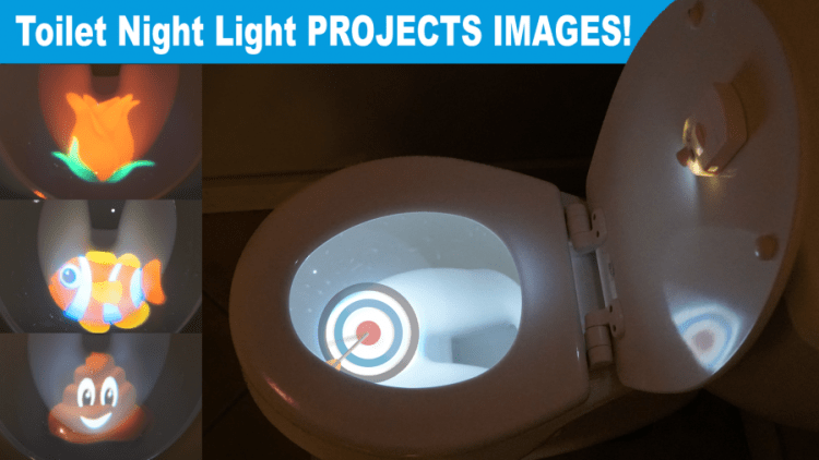Tom's Selec - toilet night light