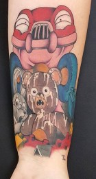 Glen Herron best of tattoo geek akira