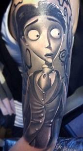 Denis Torikashvili Tidan best of tattoo corpse bride tim burton