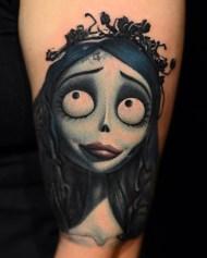 Nikko Hurtado best of tattoo corpse bride tim burton