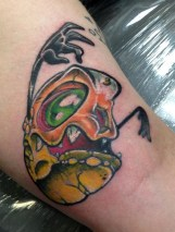 Anthony Bottum halloween geek corn candy best of tattoo