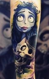 best of tattoo corpse bride tim burton
