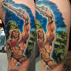 Tony Sklepic Geek Best of Tattoo He Man Skeletor