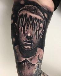 Anrijs Straume stranger things geek peau best of tattoo