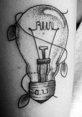 Marianna Forte stranger things geek peau best of tattoo