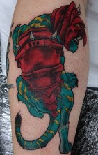 Martin Crosthwaite Geek Best of Tattoo He Man Skeletor