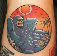 Nickcarry Geek Best of Tattoo He Man Skeletor