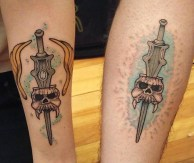 Patrick Drouin Geek Best of Tattoo He Man Skeletor
