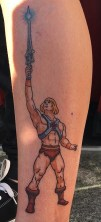 Stewart OC Geek Best of Tattoo He Man Skeletor
