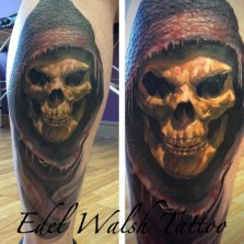 Edel Walsh Geek Best of Tattoo He Man Skeletor