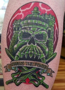 Timothy Kenee Geek Best of Tattoo He Man Skeletor