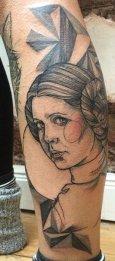 Anki Michler best of tattoo star wars leia