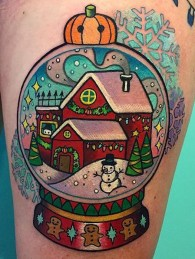 Melvin Arizmendi best of tattoo geek peau christmas