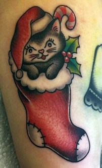 Valentina DeRosa best of tattoo geek peau christmas