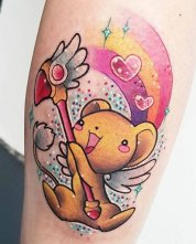 Lunie Chan Best of Tattoo Sakura Card Captor manga tattoo geek