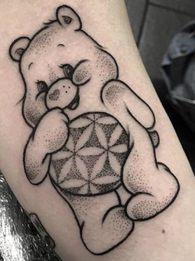 hanmaude best of tattoo care bears bisounours