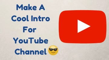 How To Make YouTube Intro Free and Easy using an Android app.