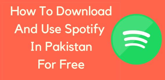 Download Spotify In pakistan