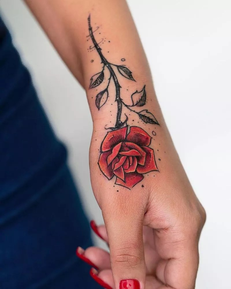 60 Most Elegant Rose Tattoos Ideas For Women
