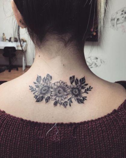 Sunflower tattoos ideas for women (45)