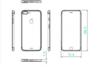 Apple iPhone 7 & 7 Plus Schematic Image