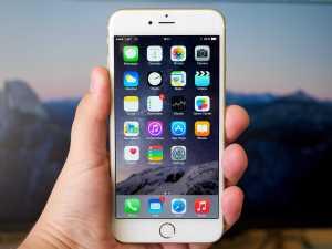 Apple iPhone Screen Image