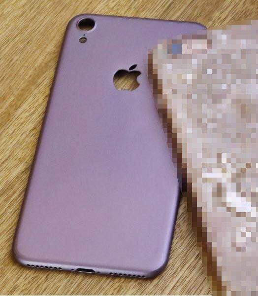 iPhone7 Purple Leaks Image.