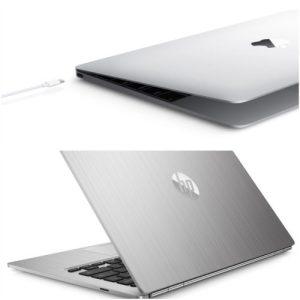 HP ChromeBook 13 V/S Apple Macbook 12 Inch Design