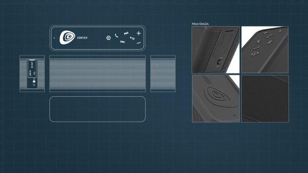Edifier Extreme Connect MP260 Design