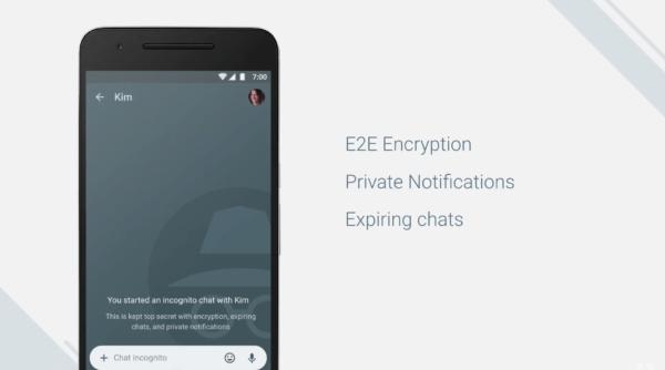 Encryption of Allo