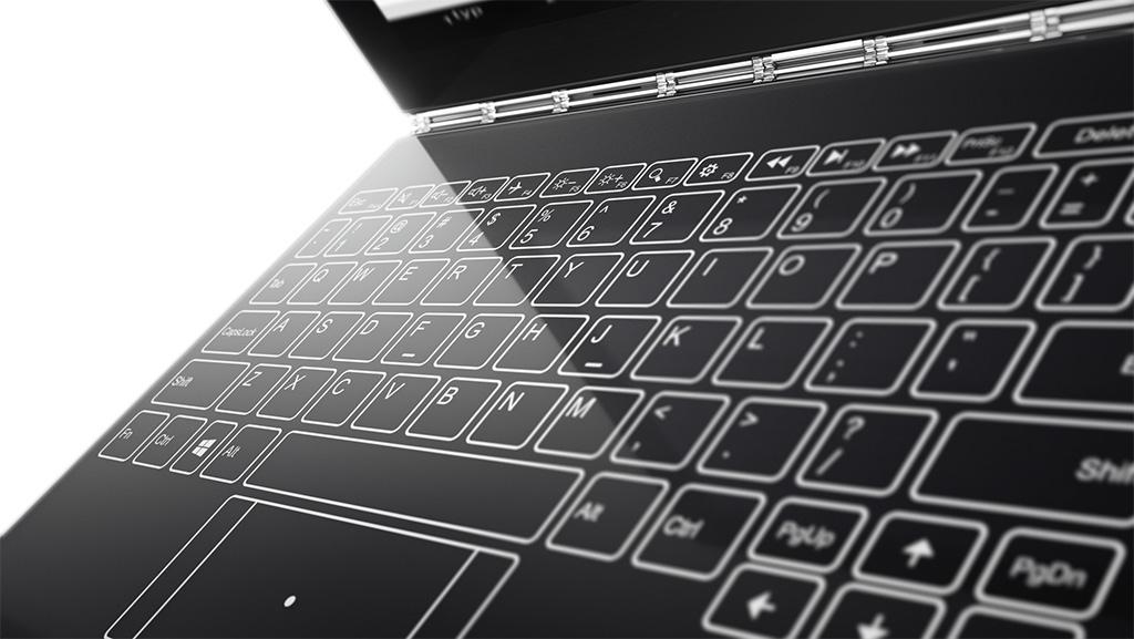 Lenovo Yoga Book Has Secret Keyboard