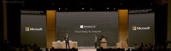 Windows 10 Holographic VR