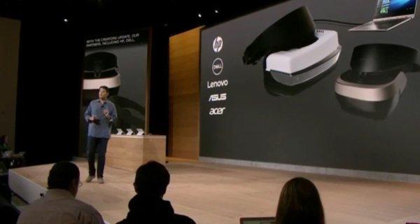 Windows 10 Creators Update VR