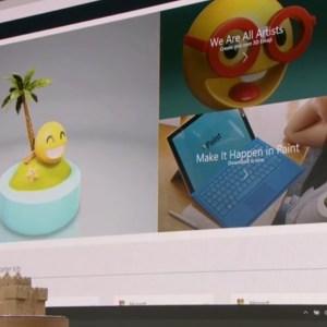 Windows 10 3D Paint App