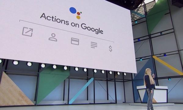 Google Assistant At Google i/o