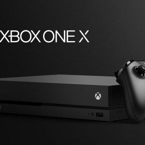Microsoft Xbox One X Design