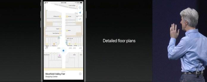 iOS 11 Maps Enhancements