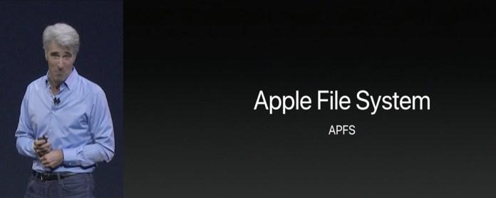 macOS High Sierra APFS
