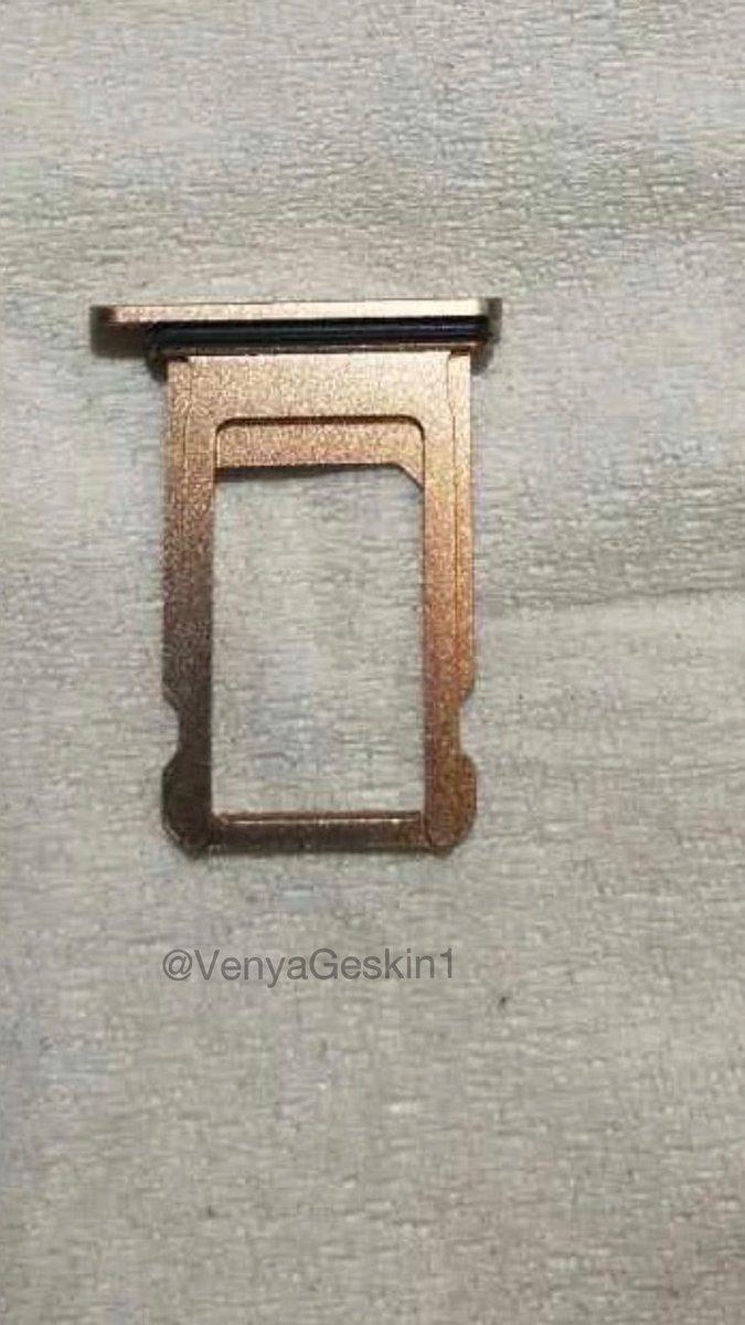 Apple iPhone 8 Sim Tray Leaks Images