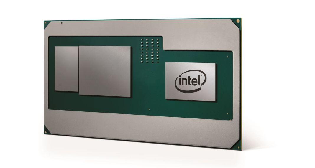 Intel AMD CPU and GPU Integrated At CES 2018