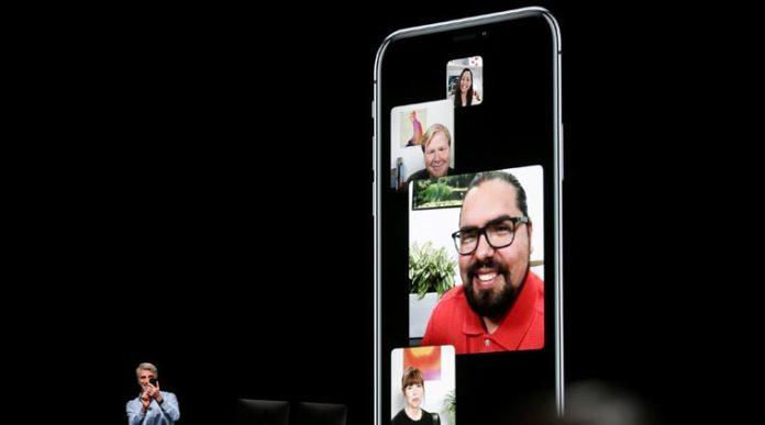 Group FaceTime iOS 12.1