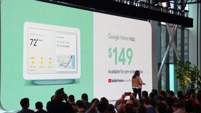 Google Home Hub Pricing