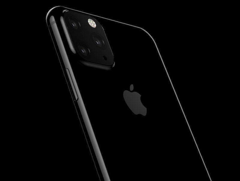 2019 iPhone Triple Camera Render Image