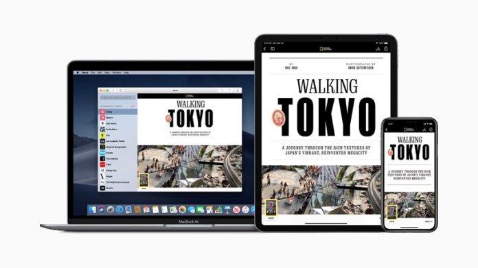 Apple News+ Service
