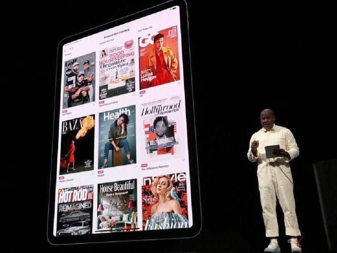 Apple News+ Service Introduction