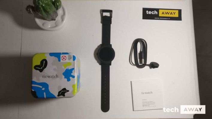 ticwatch e confezione