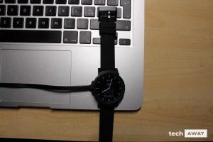 Ticwatch e carica
