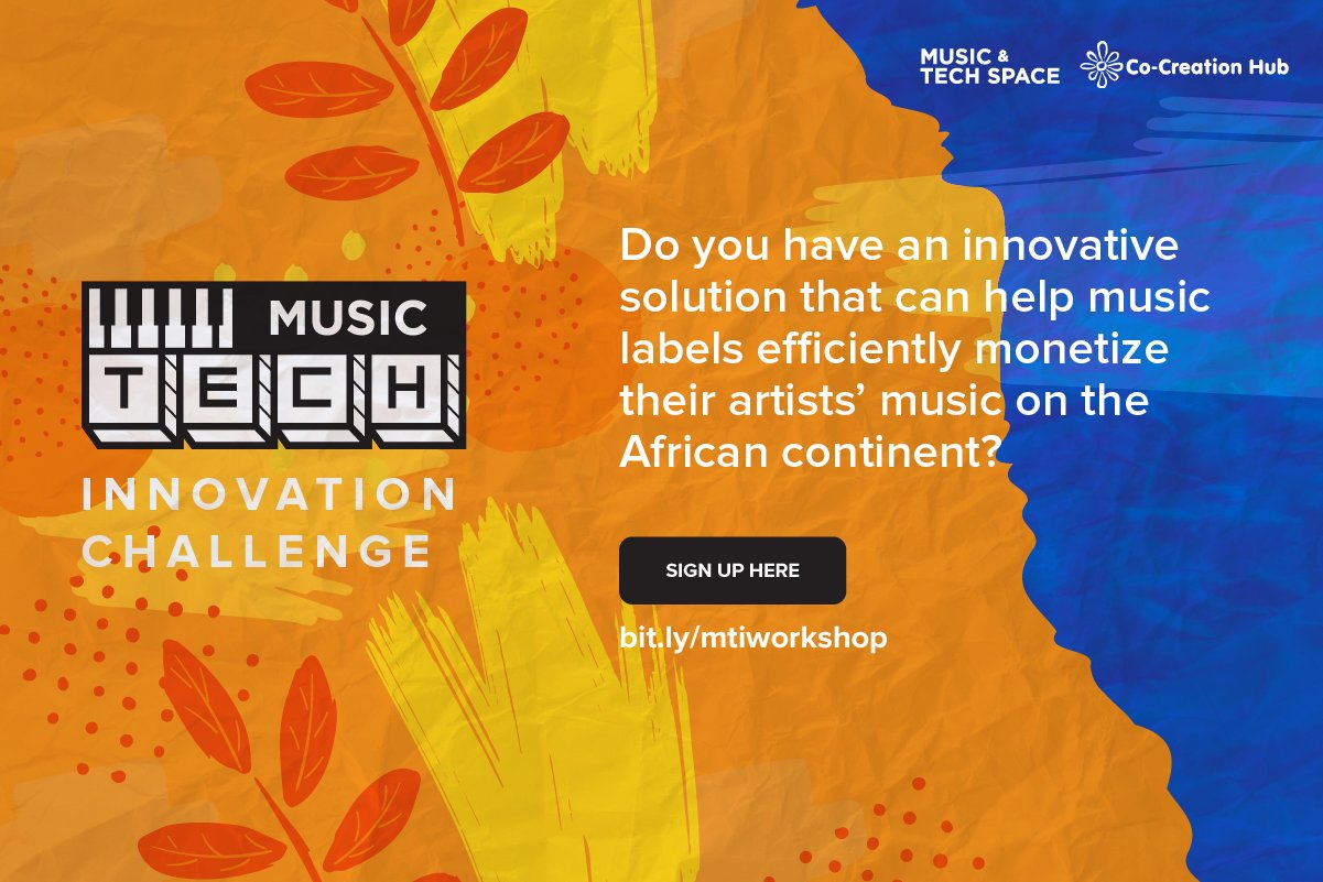 Apply: Music-Tech Innovation Challenge Powered by CcHub