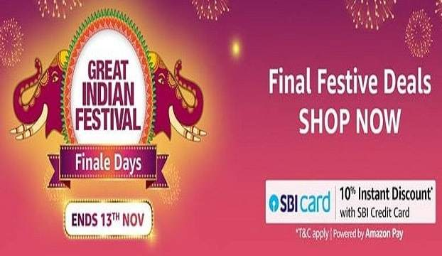 AMAZON GREAT INDIAN FESTIVAL FINALE